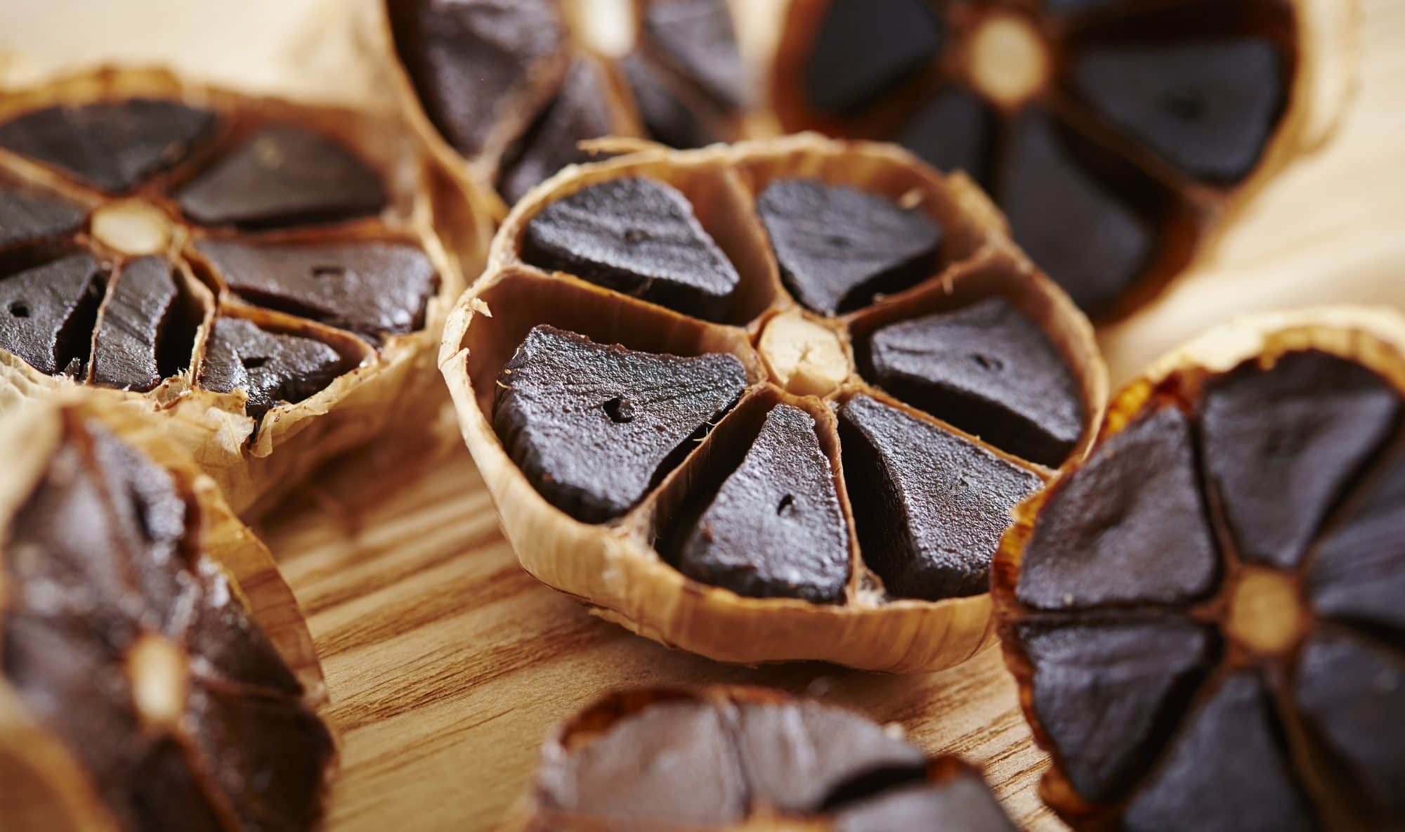Black garlic fermented foods