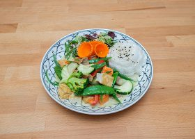 Green curry with tofu2